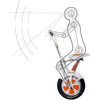 электроскутер airwheel a3 картинка фото