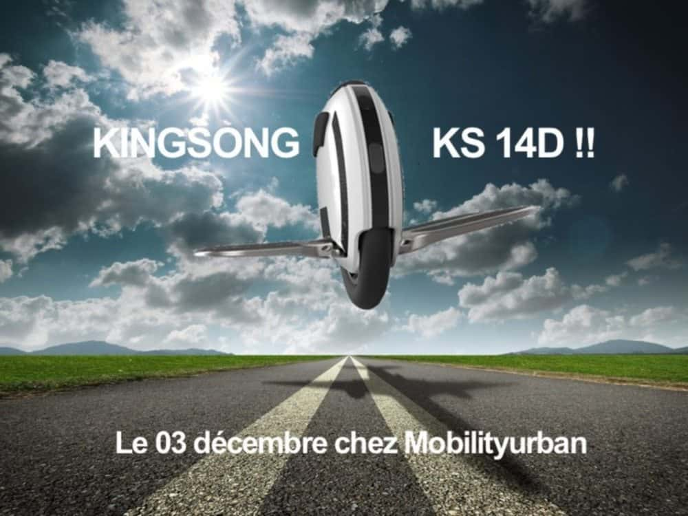 Моноколесо KingSong KS14D 420Wh Black