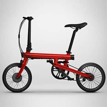 Электровелосипед Xiaomi Qicycle красный фото