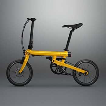 Электровелосипед Xiaomi Qicycle желтый фото
