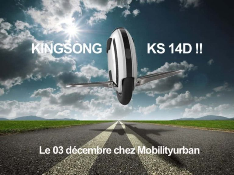 Моноколесо KingSong KS14D 420Wh White
