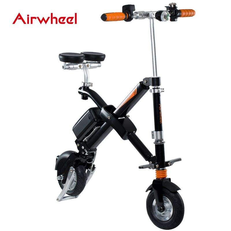 Электровелосипед AirWheel E6 Black