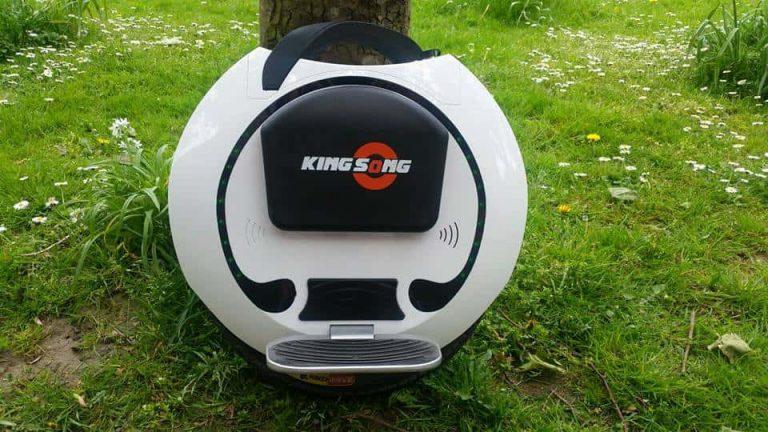 Моноколесо KingSong KS16A 680Wh Black