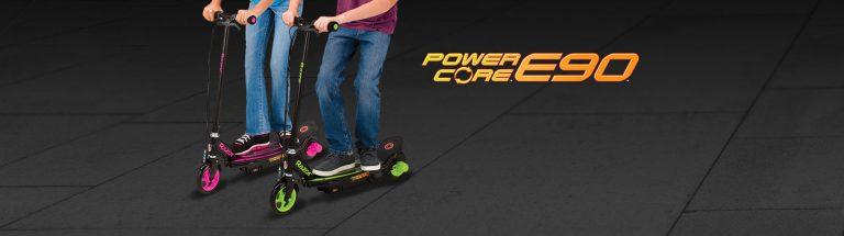 Электросамокат Razor Power Core E90 Green