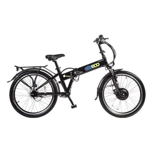 Велогибрид Eltreco PATROL КАРДАН 24 Black