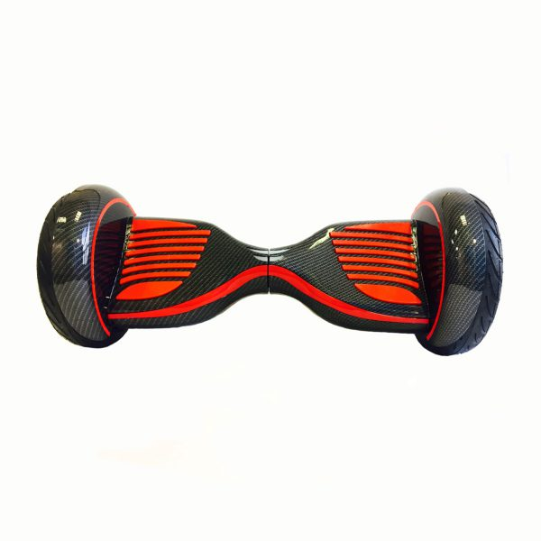 Гироскутер Смарт Баланс 10.5 (Серый карбон, красный)