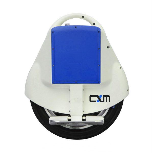 Моноколесо CXM A6 белый перламутр/голубой