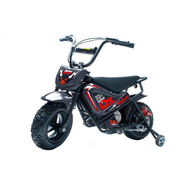 Детский электромотоцикл HOOK OX, черный