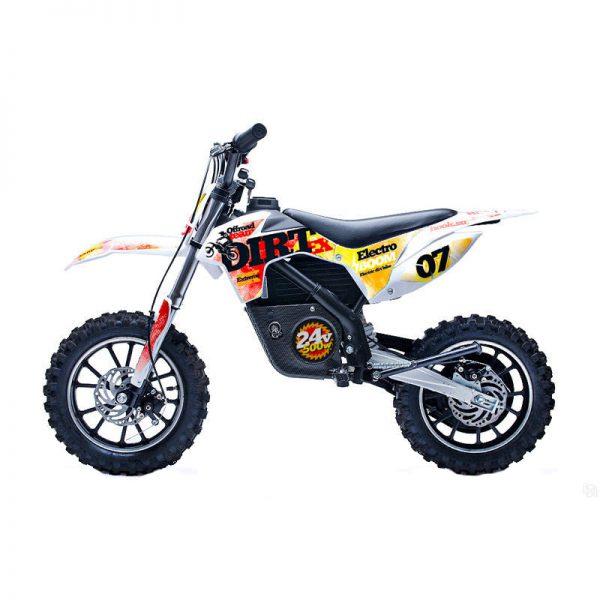 Детский электромотоцикл HOOK DIRT 24v красный