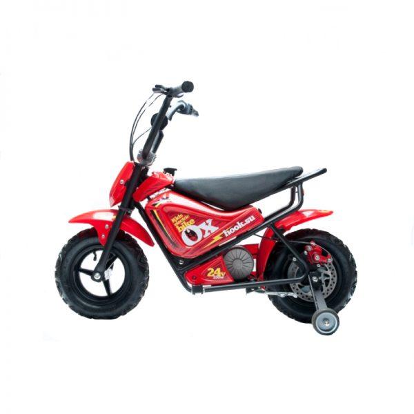 Детский электромотоцикл HOOK OX, красный