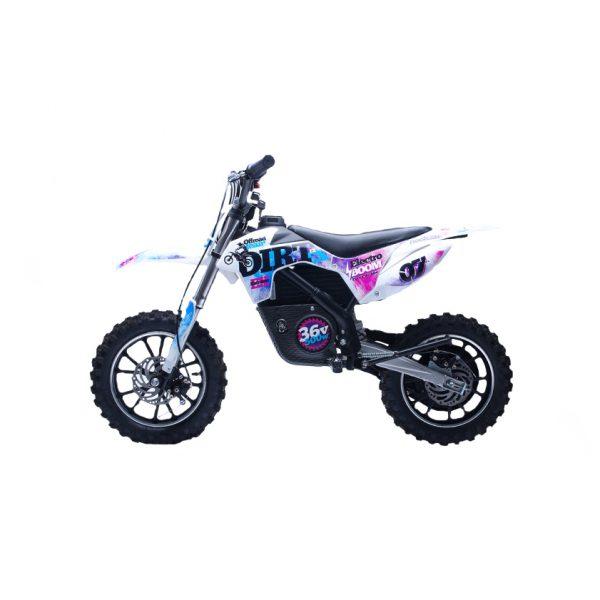 Детский электромотоцикл HOOK DIRT 36V, синий
