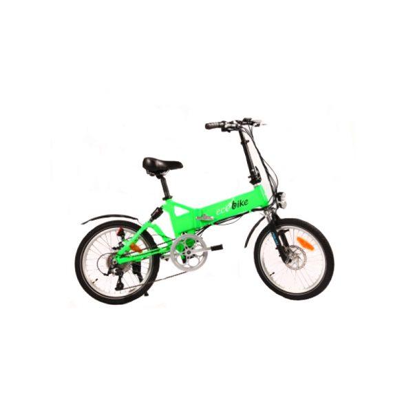 Ecobike F1 Comfort (зеленый кислотный)