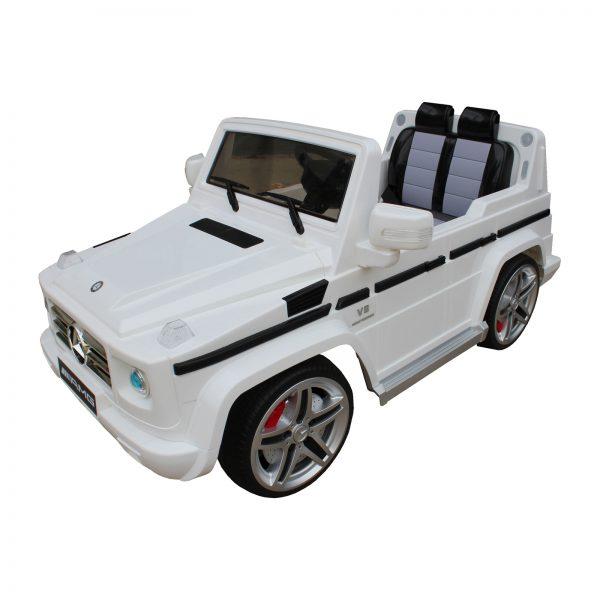 SHINE RING Электромобиль MERCEDES G55 White
