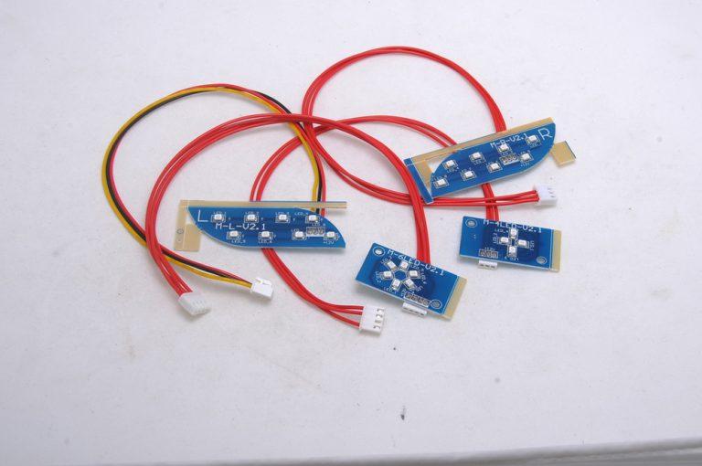 Комплект свет. диодов для гироскутера 4pin (L+R)