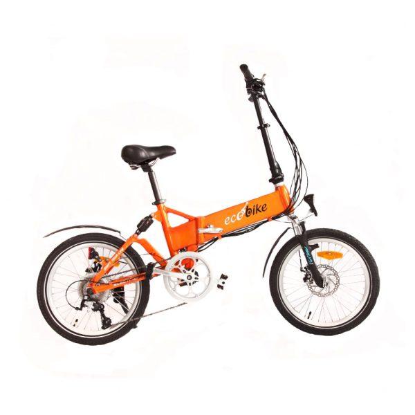 Ecobike F1 Comfort (оранжевый кислотный)