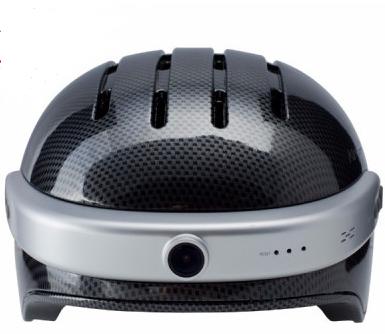 Шлем с видеокамерой Airwheel С5 (карбон)