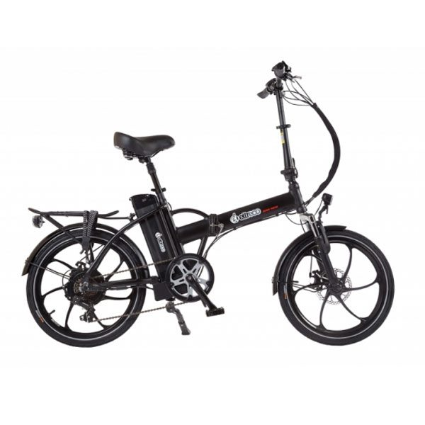 Велогибрид Eltreco JAZZ 500W Black Matt