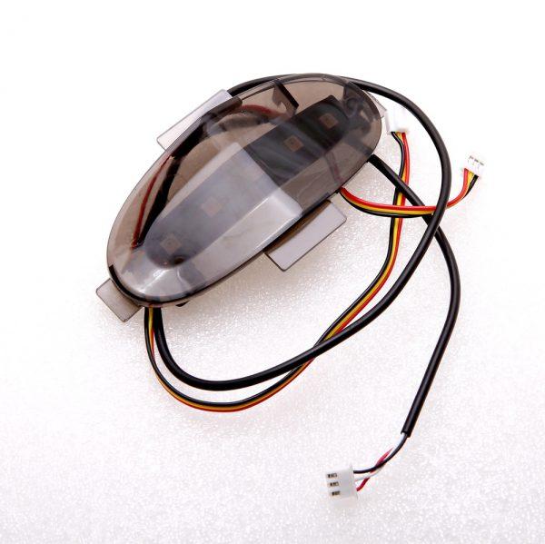 Задняя панель моноколеса GotWay MSuper X (в сборе с LED-лентой)