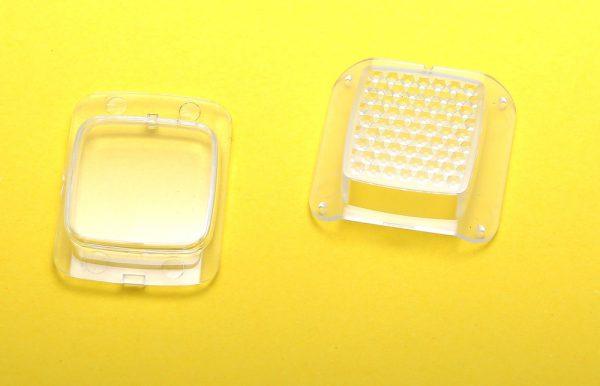 Декоративные накладки для фар моноколеса Inmotion V10 (передняя и задняя)